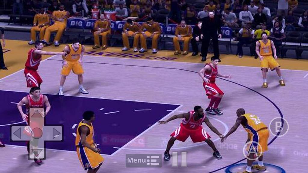 NBA Deluxe Android Game APK OFFLINE NO EMULATOR NEEDED